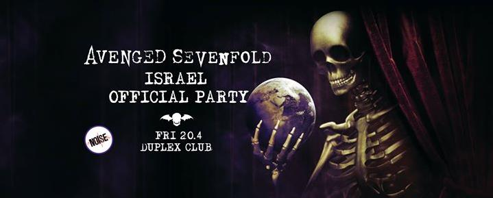 Avenged Sevenfold Israel Party