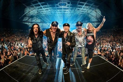Скорпионс — Scorpions — Crazy world tour 2018